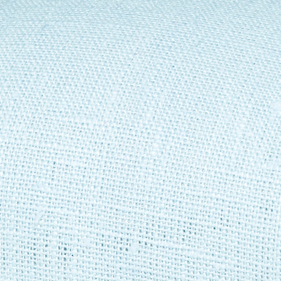 Light blue linen fabric by metre