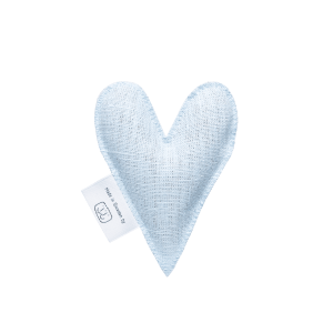 Light blue lavender heart
