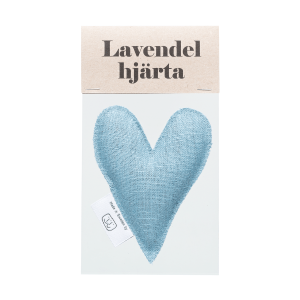 Petrol lavender heart in bag