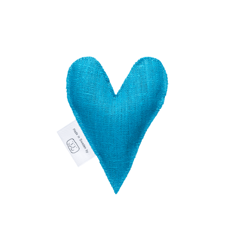 Turquoise lavender heart