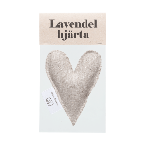 Nature lavender heart in bag