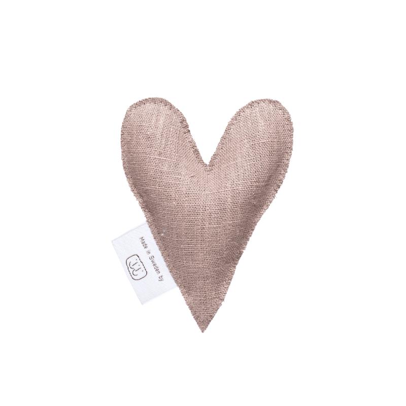 Nougat lavendelhjärta