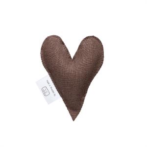 Brown lavender heart