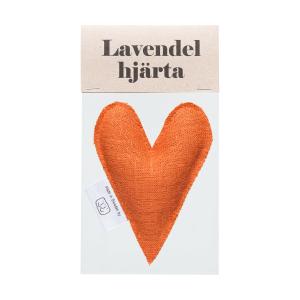 Brick lavender heart in bag