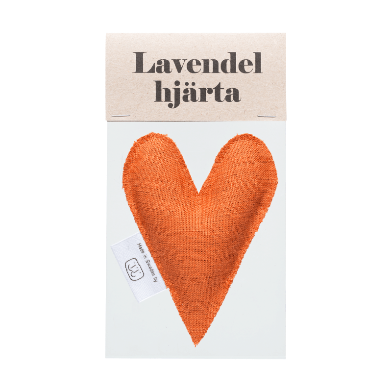 Brick lavender heart in bag