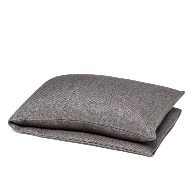 Grey wheat warmer in linen