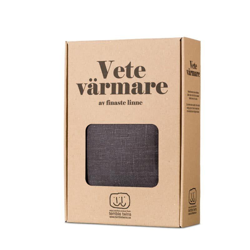 Grey wheat warmer in box