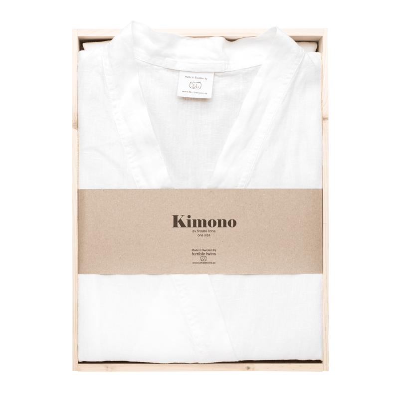 White kimono in box