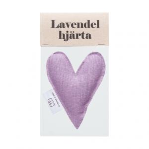 Heather lavender heart in bag