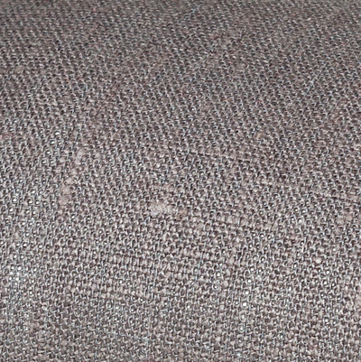 Grey linen fabric by metre
