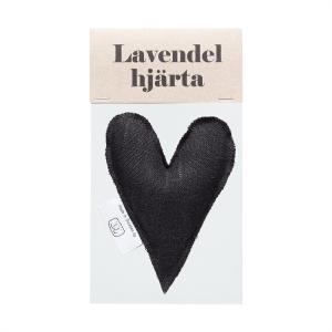 Black lavender heart in bag