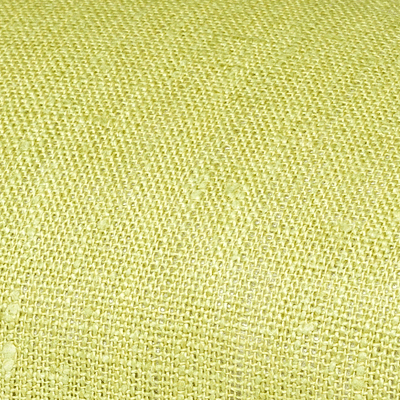 Dark lime linen fabric by metre