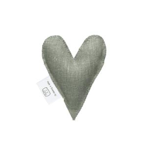 Olive green lavender heart