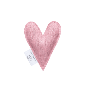 Pale pink lavender heart