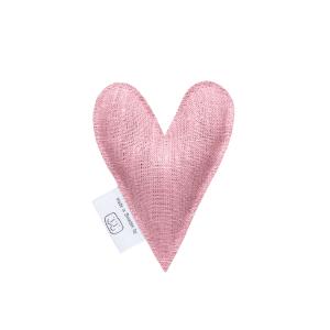 Gammalrosa lavendelhjärta