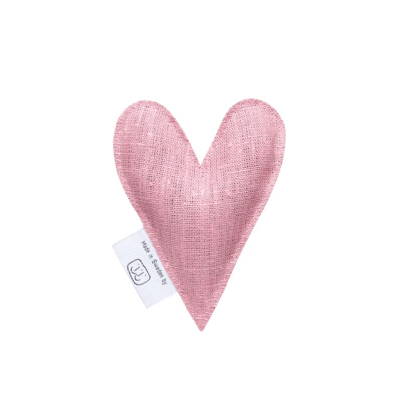 Pale pink lavender heart