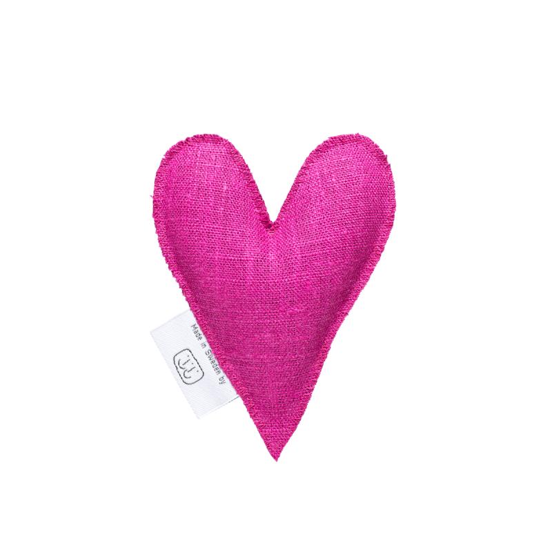 Fuchsia pink lavender heart