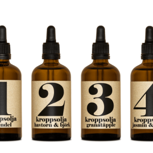 Body oils Spa series