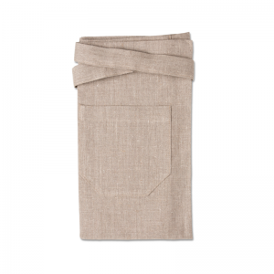 Nature bistro apron in linen