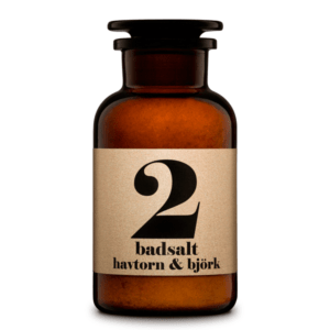 Bath salt 2 Sea Buckthorn & Birch