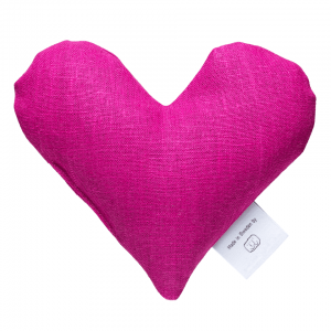 Fuchsia sweetheart wheat warmer