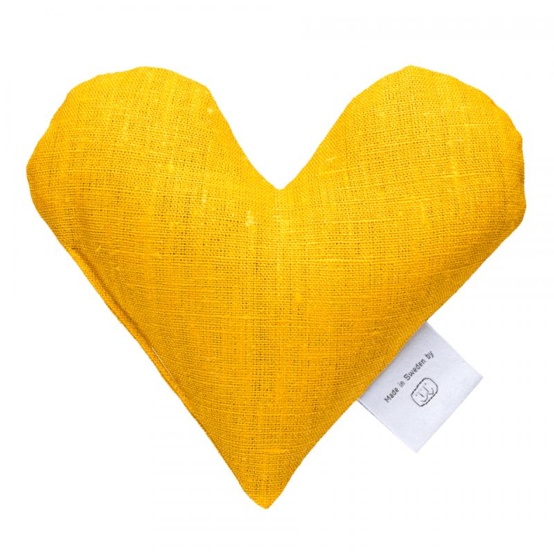 Yellow sweetheart wheat warmer