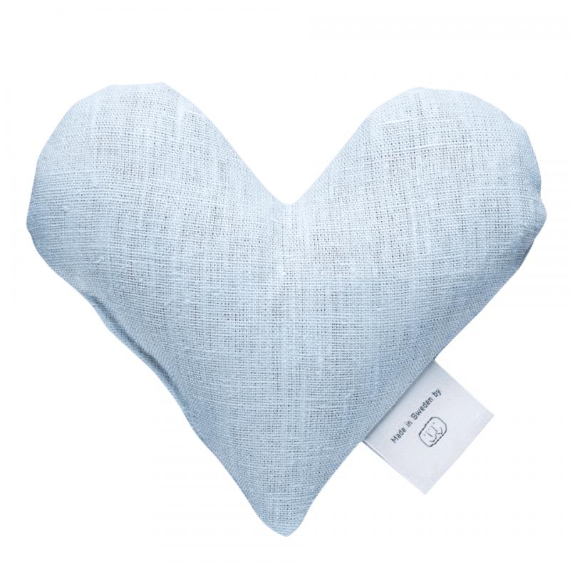 Light blue sweetheart wheat warmer