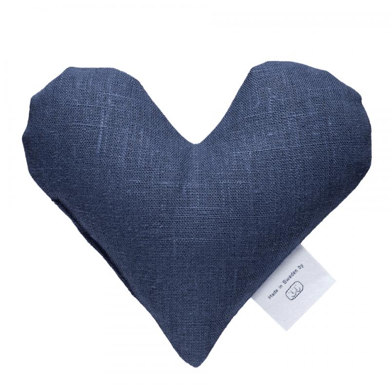Marinblå sweetheart vetevärmare