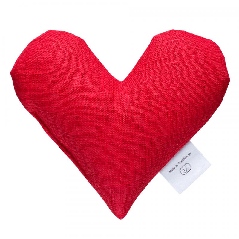 Red sweetheart wheat warmer