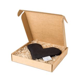 Black sweetheart wheat warmer in box